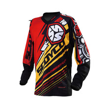 Professional Motorcycle Dirt Bike MTB DH MX Long Sleeve T-Shirt Breathable Reflective Clothing Motocross Off-Road Racing Jersey