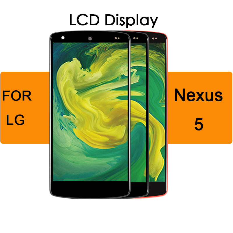 For LG Nexus 5 4.95 inch  Display Touch Screen Digitizer D820 D821 LCD with Bezel Frame Assembly Replacement For LG Nexus 5 4.95 inch  Display Touch Screen Digitizer D820 D821 LCD with Bezel Frame Assembly Replacement
