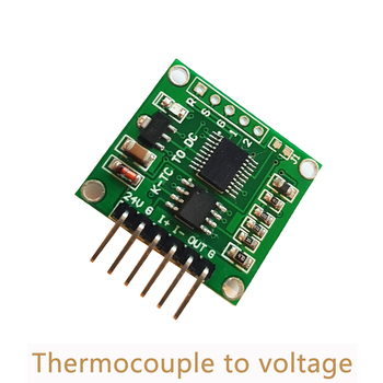 10pcs/lot 0-5V 0-10V K type linear temperature Board Thermocouple to voltage transmitter module  cold junction compensation SC08