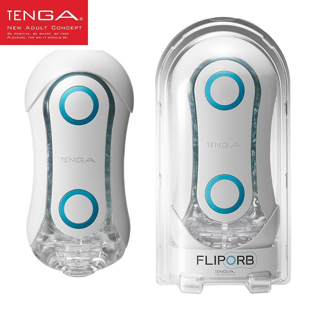 Original japan TENGA FLIP ORB RUSH Male Masturbator Cup For Man Sex Pocket Realistic Vagina Silicone