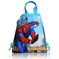 1pcs Spideman Hot Cartoon Drawstring Backpack Bags 34*27CM Non-Woven Fabric Multipurpose Bags as Kids Gifts,School Furniture