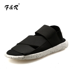 F&R 2018 Summer Beach Sandal Shoes Men Youth Sandals Ultraboost Footwear Sport Platform Cool Women Hiking Sneaker 36-44