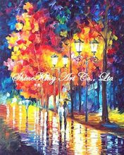 palette knife oil painting  modern oil painting canvas oil painting  K367