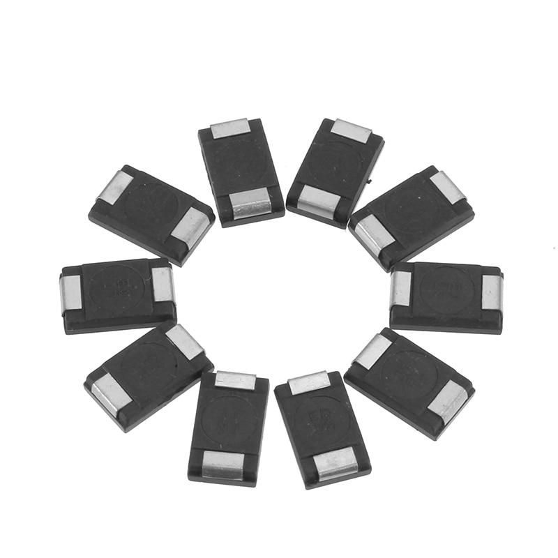 Best Promotion 10pcs/lot SMD Tantalum Polymer Capacitors 2R5TPE330M9 2.5V 330UF POSCAP Polymer Capacitance