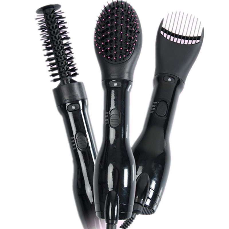 Hair Dryer Automatic 1000W Hair Dryer Brush Rotating Brush Professional Electric Hair Blow Comb Curling Iron Hair Styler Comb 220v 110v multifunctional professional electric hair dryer blow hairdryer styler brush comb straightener