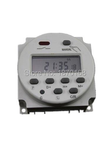 Cn101a AC / DC24V LCD Digital Timer diprogram, Ac / DC 24 V 16A waktu waktu Relay Switch