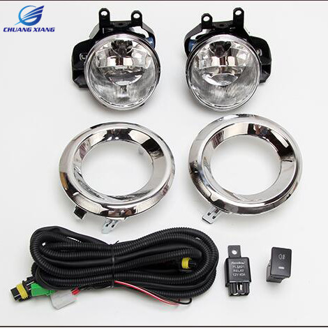Chuangxiang Car Front Fog Lamp Fog Light For Toyota Land Cruiser Prado 150 LC150 2014 2015 2016 2017 Accessories 2015 1400w mini home solar power system off grid solar battery charger system 4 120 w solar panel for phone lighting sfps1311a