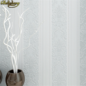 Image 2 - beibehang papel de parede 3d European vertical stripes Wallpaper for Bedroom Modern Design living room decoration wall paper