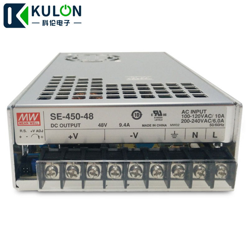 Mean Well Original SE-450-3.3 Single Output Switching Power Supply 3.3V 75A 247W