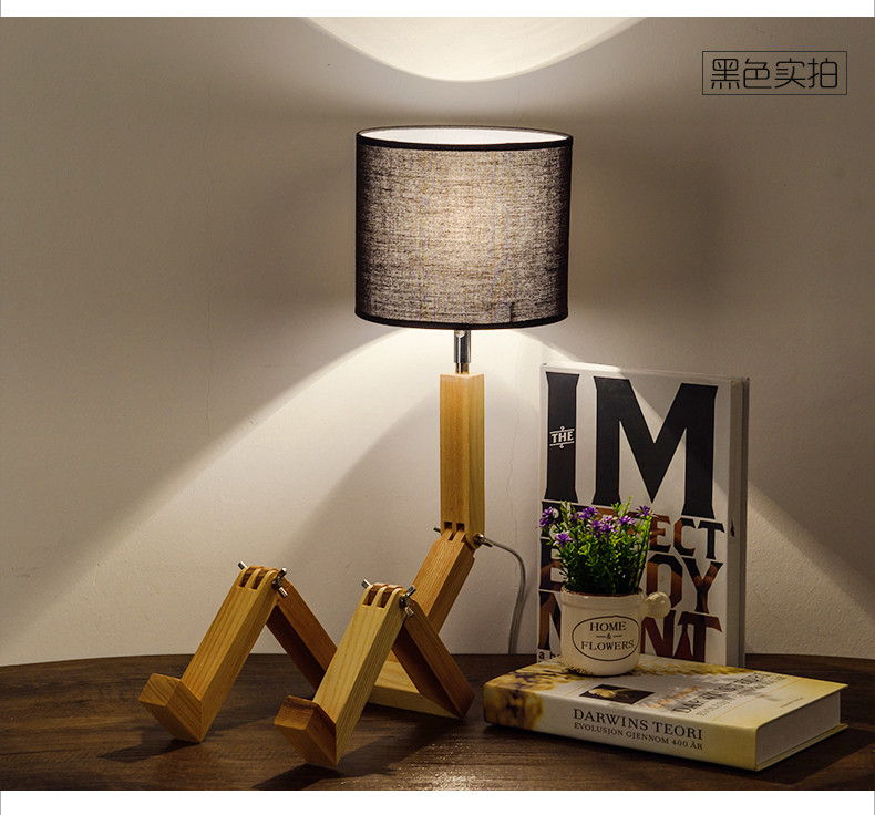 Study Work Office Students Reading Bedroom Wood Products Folding Table Lamp In  Desk Lamps From Lights U0026 Lighting On Aliexpress.com | Alibaba Group