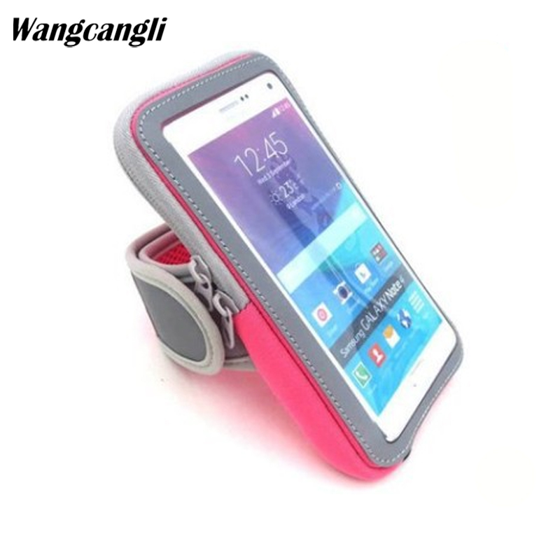Armbands Wangcangli Mobile Bracelet Run Phone Armband Cover For Running Arm Band The Holder For Phone On Hand Arm Case For Hand