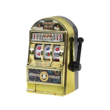 1pc Lucky Jackpot Mini Fruit Slot Machine Fun Birthday Gift Kids Educational Toy