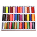 Polyester Spool Sewing Thread Mixed Colors Sewing Machine Threads Polyester Thread Sewing Supplies For Hand Machine Daily Life
