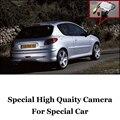 Cámara del coche Para Peugeot 206/207/306/307/308 Ultra HD que invierte la cámara de vista trasera del automóvil imag Amigos Usan | CCD + RCA