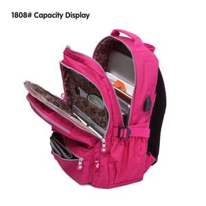 Image 5 - TEGAOTE kadın okul sırt çantaları Anti hırsızlık USB şarj sırt çantası erkek Laptop sırt çantası genç kızlar için okul çantaları Mochila seyahat