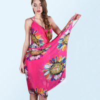 2016 New Women Beach Towels Ladies Sexy Women Scarf Super Chiffon Beach Towels In The Spring