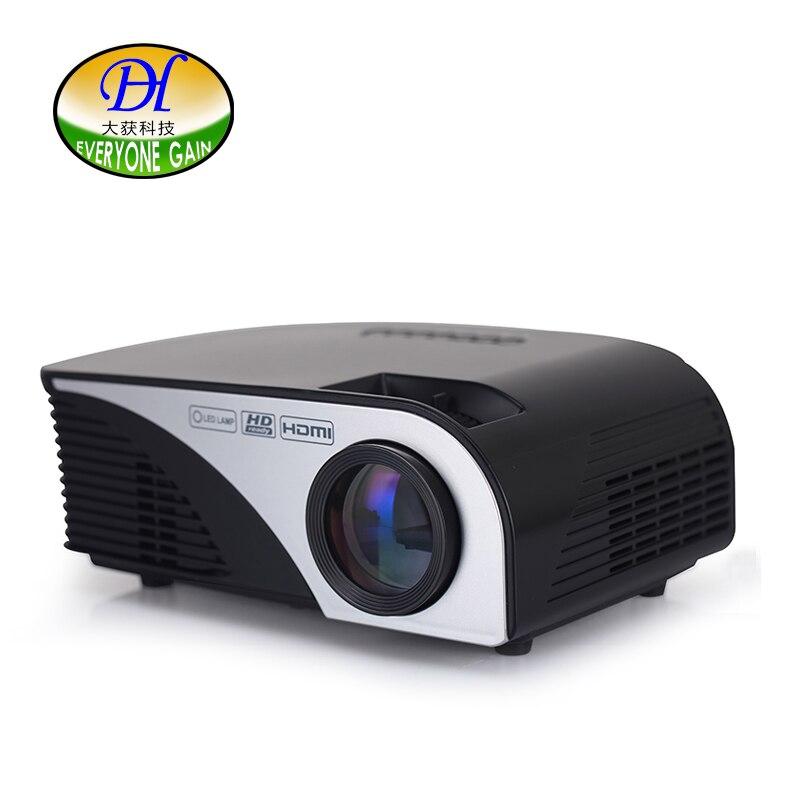 Todos Ganan 1200 Lúmenes Mini321 + Multimedia Portátil de Mano LED LCD HDMI USB