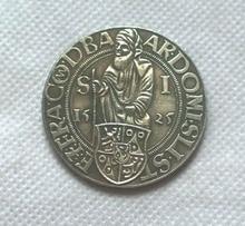 1525 Joachimsthaler Medieval Bohemia Fantasy Coin Copy FREE SHIPPING