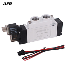 лучшая цена SMC Type 5 port solenoid valve body ported/single unit SY7120-5LZD-02 SY7120-6LZD-02 SY7120-4LZD-02 SY5120-3LZD pneumatic valve