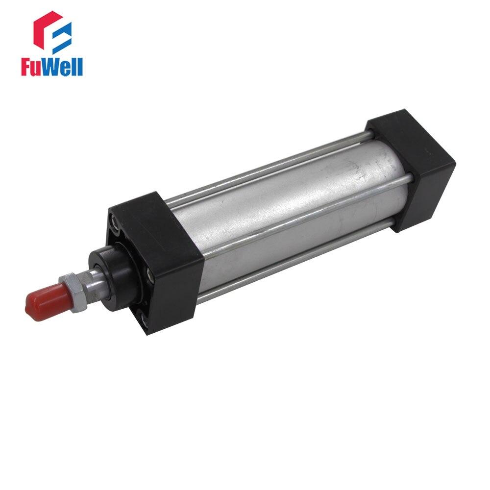 Jenis Pneumatic Cylinder Sc Sc40x350 40x400 40mm Diameter 350 Dc12v To Dc28v Converter With Lm2585 400mm Stroke Aluminium Alloy Ganda Acting Air