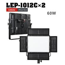 Falconeyes LEP-1012C 3000k-5600K 1012 photo lights CRI95 Camera Photo LED Video Light 2pcs/lot free shipping стоимость
