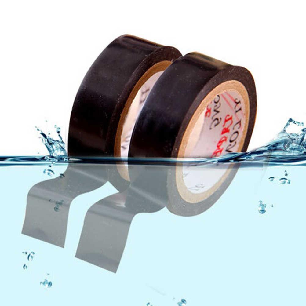 שחור 10M PVC מעכבי בעירה דבק ויניל בידוד חשמלי קלטת רול חום עמיד כוח בידוד קלטת