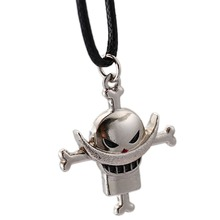 ONE PIECE Choker Necklace Roronoa Zoro Edward Luffy Pendant Men Women Gift Anime Jewelry Accessories YS11526