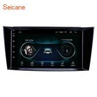 Seicane Android 8,1 Автомобильный gps мультимедийный плеер gps для 2001 2002-2010 Mercedes Benz E-Class W211/CLS W219/CLK W209/g-класс W463