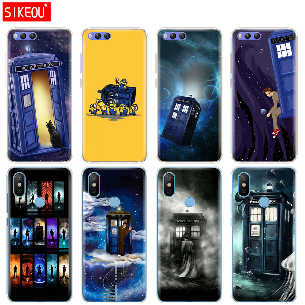 Aggressive Silicone Cover Case For Xiaomi Mi 8 8se A1 A2 5 5s 5x 6 Mi5 Mi6 Note 3 Max Mix 2 2s Tardis Box Doctor Who Fitted Cases Phone Bags & Cases