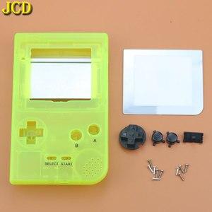 Image 5 - JCD Cho GBP Tay Cầm Nhựa Toàn Vỏ Vỏ Bao Da Thay Thế Cho Gameboy Bỏ Túi Game Vỏ Ốp Lưng Có Nút Bấm Bộ