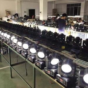 Image 5 - 60ワットrgbwヘッド移動ビームled 4in1舞台照明ミニdjライト8ピース/ロット