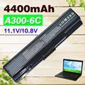 4400mAh laptop Battery For Toshiba Satellite A300 A500 Pro L550 L450 L300 A200 A210 A350 L500 PA3534U-1BRS PA3535U-1BAS