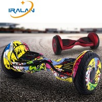 IRALAN 10 Inch Hoverboard Bluetooth Speaker Electric Giroskuter Gyroscooter Overboard Gyro Scooter Hover Board Two Wheel