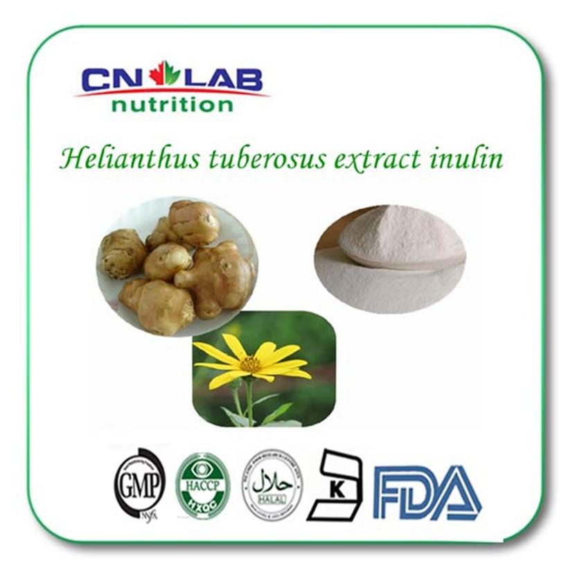 1kg/lot Hot Product Jerusalem Artichoke Extract, 90% Inulin, Helianthus Tuberosus L. Extract