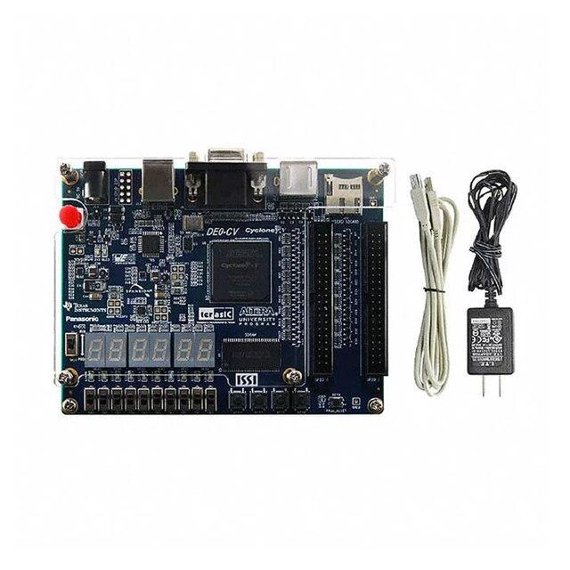 DE0 CVตรรกะโปรแกรมพัฒนาIC 5CEBA4F23C7N Cyclone FPGA Dev Kit P0192