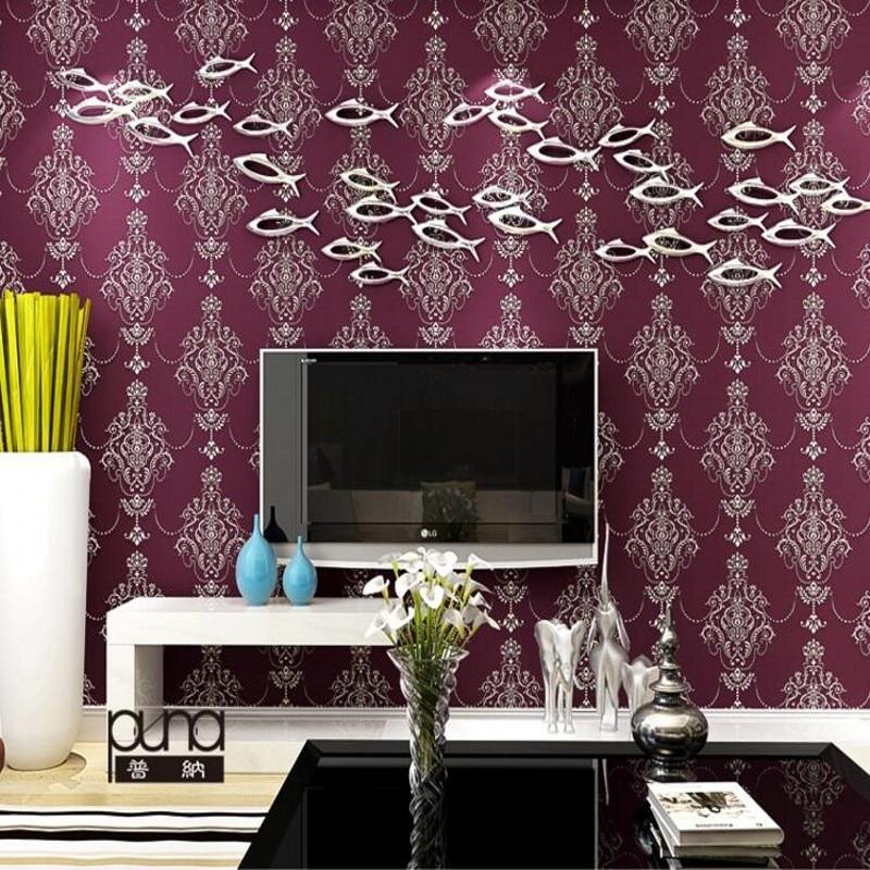 ФОТО Beibehang Simple European non-woven wallpaper 3d vertical striped wallpaper bedroom living room TV backdrop home 3d  wallpaper