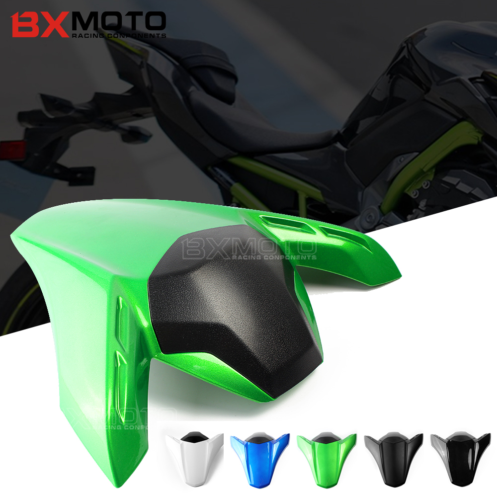 все цены на Rear Seat Cowl Covers Motocross Rear Seat Cover Tail Section Fairing Cowl For Kawasaki Z900 2017 2018 motorcycles accessories онлайн