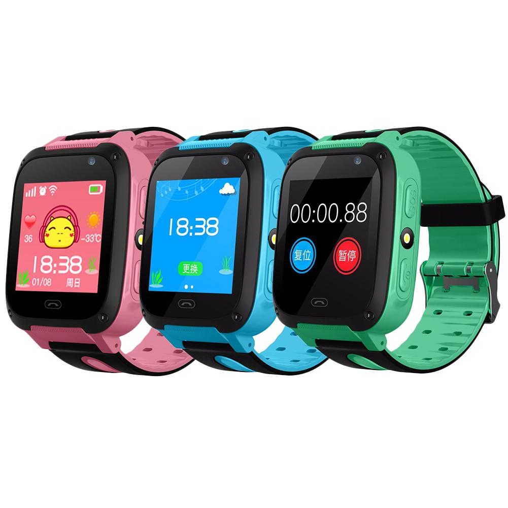 V6 Smart Uhr Baby Mit SMART UHR GPS Tracker Bluetooth Anti Verloren Monitor SOS IP67 Telefon Smartwatch Kinder Für IOS android