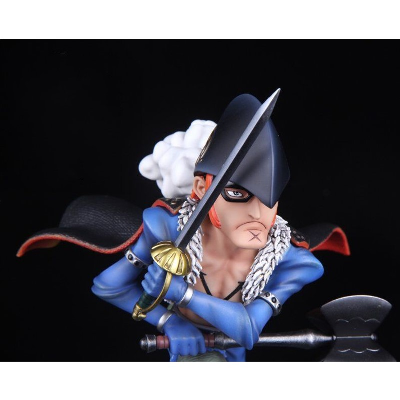 Toys & Hobbies Statue One Piece Red Flag X Drake Sd Bust Full-length Portrait Gk 24cm Action Figure Collectible Model Toy Box D639