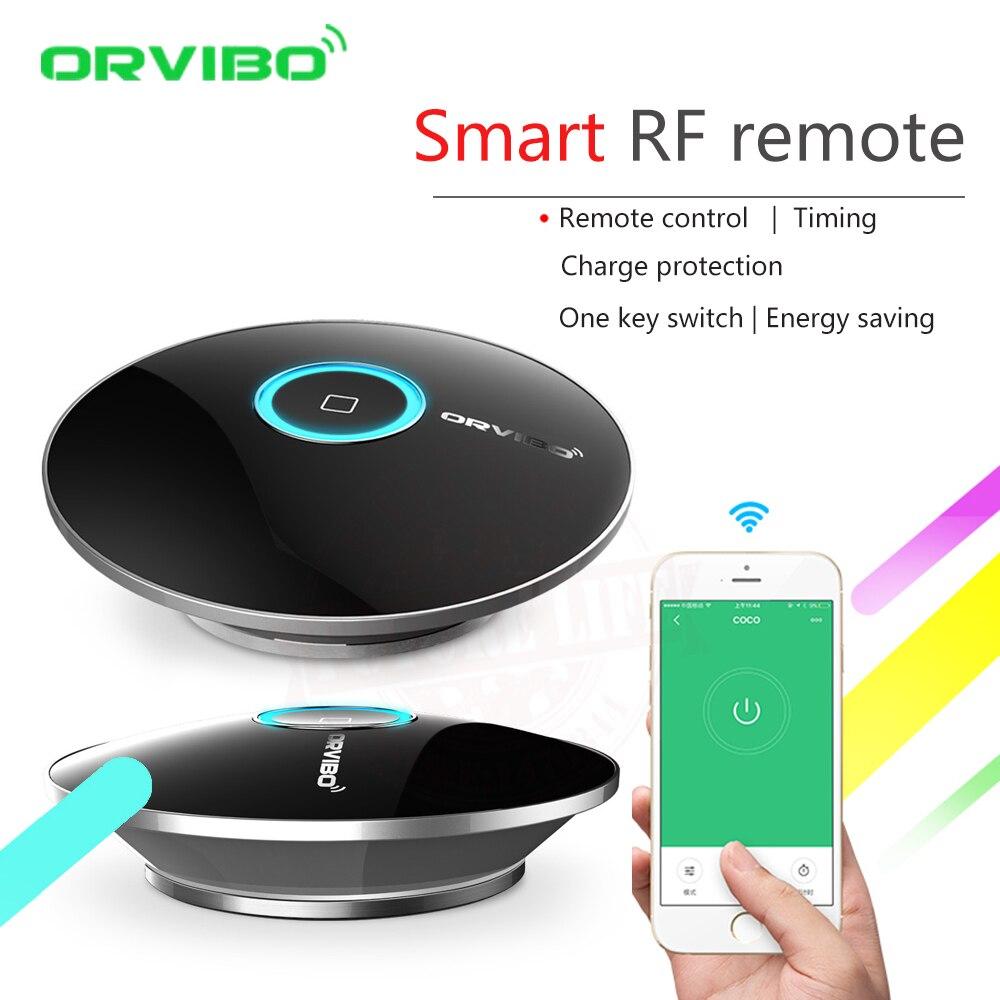 2017 Orvibo Smart Home Automation Intelligent Controller Allone pro,Smart Phone Wireless Smart Remote Control IR+RF+WIFI Switch  2