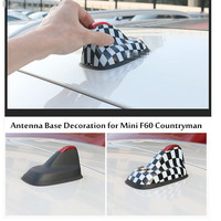 For mini cooper s countryman F60 Clubman F54 2017 Red union jack rainbow etc. antenna base cover super accessories