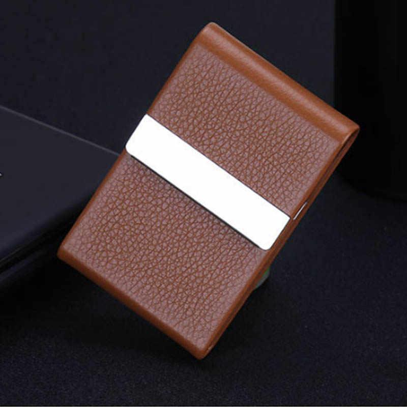 Аксессуары для курения чехол для сигарет 1 шт. Коробка Для Хранения Сигар из нержавеющей стали многофункциональный чехол для карт s PU держатель для табака