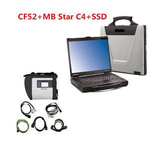 Multiplexer Diagnostics-System Sd-Connect Mb Star C4 4-Mercede CF52 SSD with Hhtwin Diagnostics-system/Compact/4-mercede/..