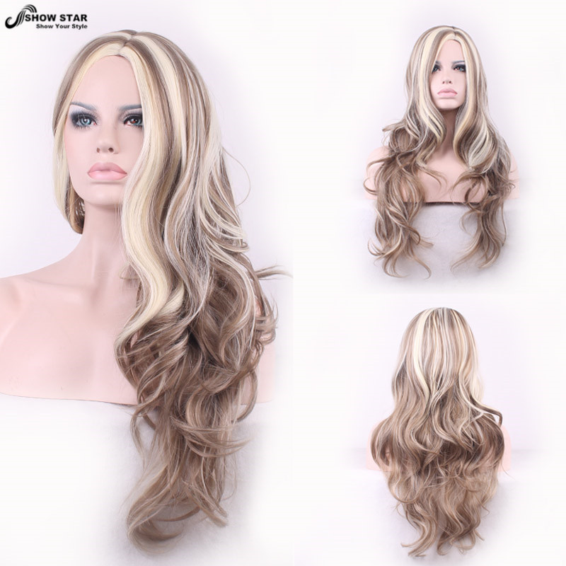 Realistic Blonde Wig 52
