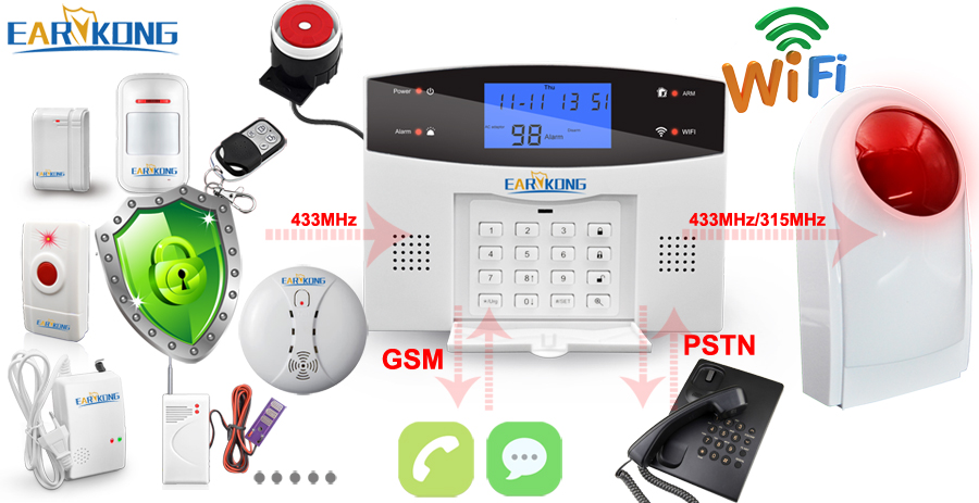 3. Support 100 wireless detector,