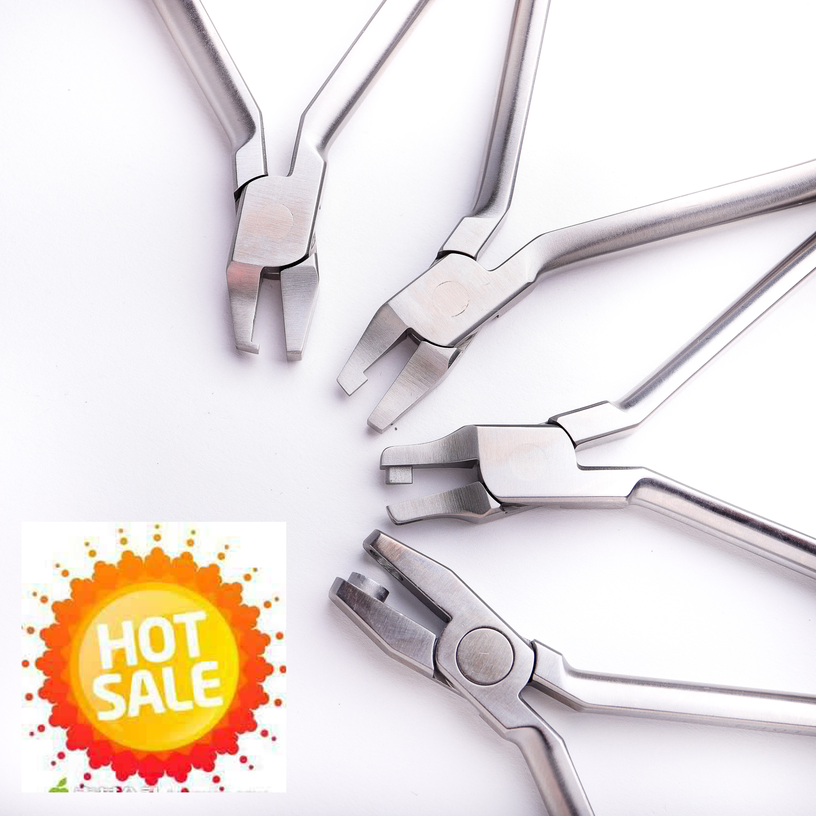 Dental orthodonticPliers CLEAR collection For Clear Aligners Treatment Invisalign