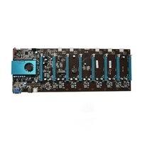 Добыча материнская плата 8 видео карты (с cpu) ETH BTC XMR шахтеров 1 до 8 GPU карты Эфириума прямой замены материнской платы