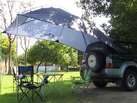 Car roof outdoor equipment camping car tent canopy car tail ledger car awning