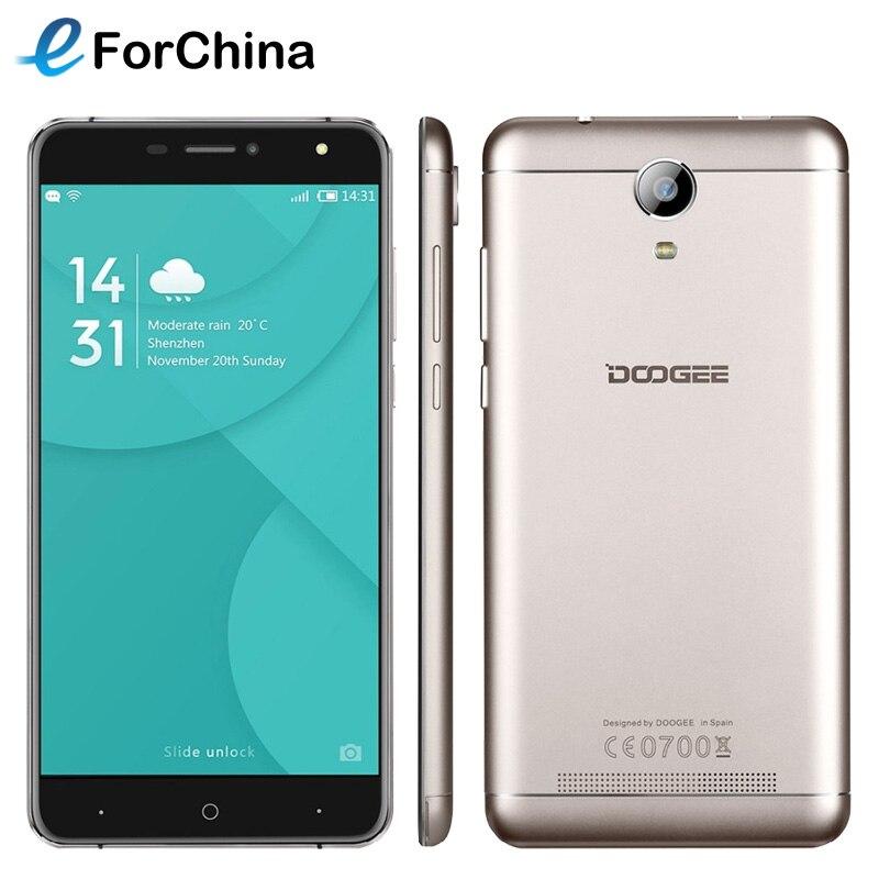 bilder für DOOGEE X7 Pro 16 GB ROM 2 GB RAM Smartphone 6,0 zoll Bildschirm MTK6737 Android 6.0 Quad Core 8MP 3700 mAh OTG Handy mit VR Box