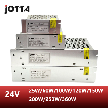 Free Shipping  24V  60W 120W 150W 250W 360W Switching power supply 24v power supply цена 2017